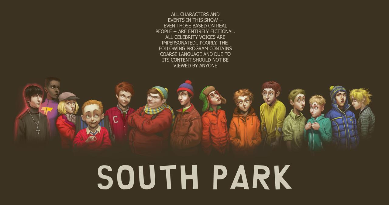 south park на 2 на 2: